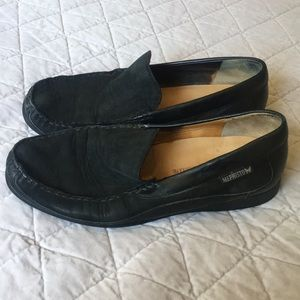 Mephisto Cool-Air Black Loafer Shoes 11 1/2